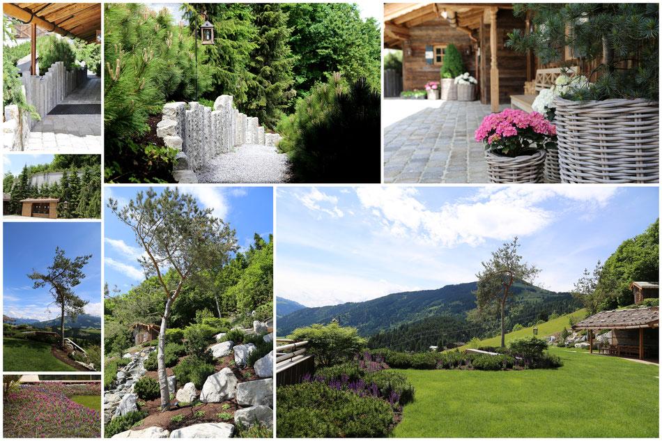 Gartenprojekt Kitzbühel Tirol