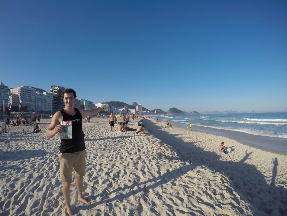 Rio de Janeiro, an der Copacabana - Capirinia und Zuckerhut - Klettern, Surfen, Wandern, Abenteuer....