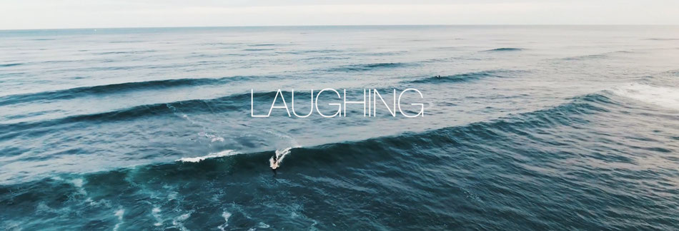 Laughing at the Ocean