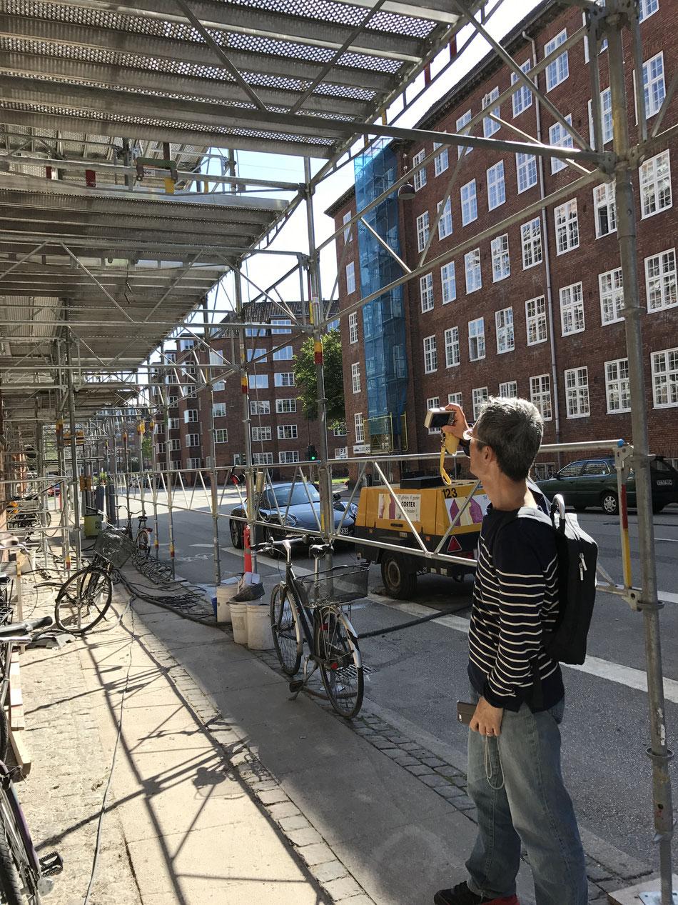コペンハーゲンの足場