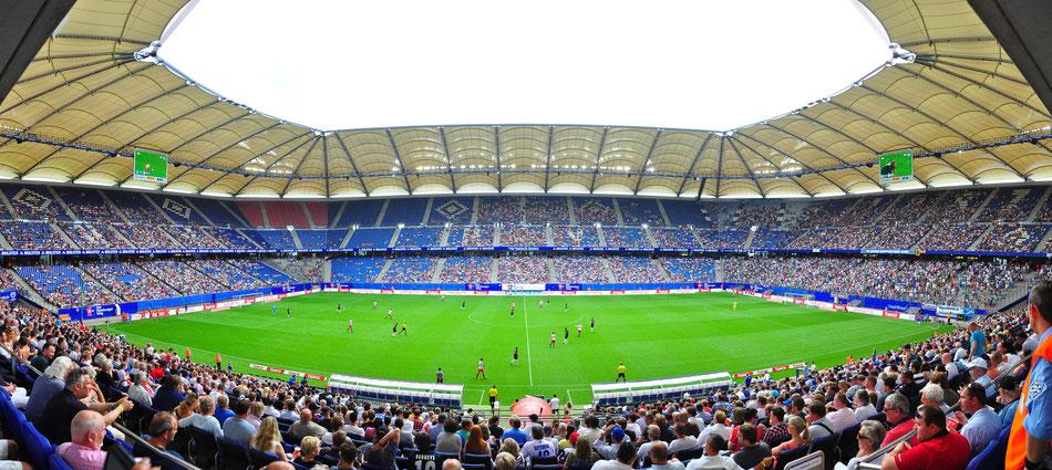 Imtech Arena HSV Stadium - Hamburg, Germany