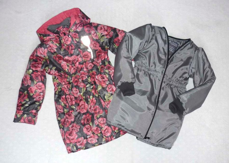 пальто с подстежкой для девочки
