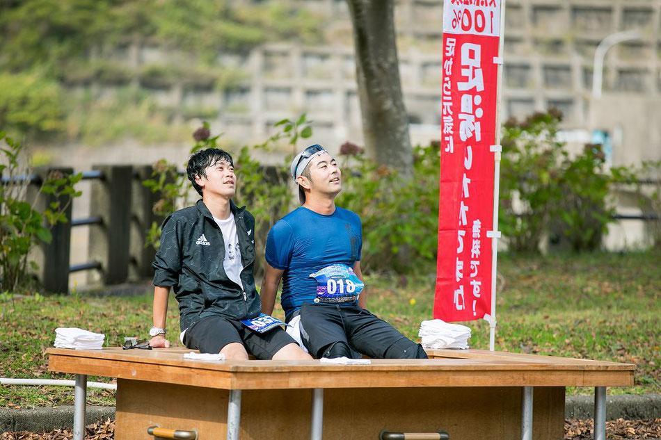きき酒マラソンへの模範的参加姿勢。