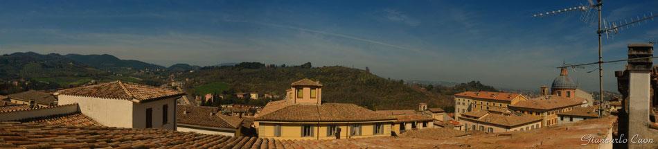 Dai tetti di Spoleto