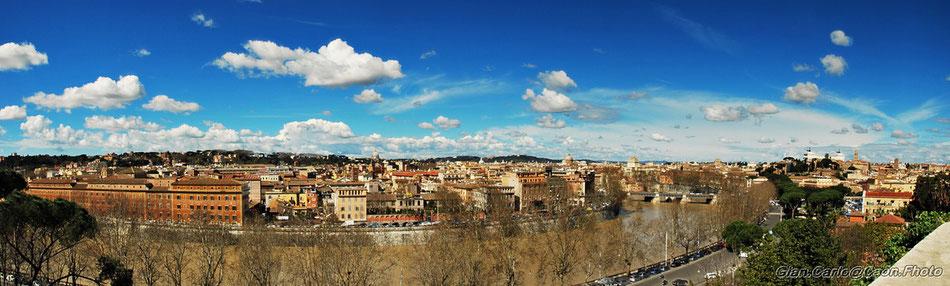 Panorama dall'Aventino -clicca per Ingrandire -