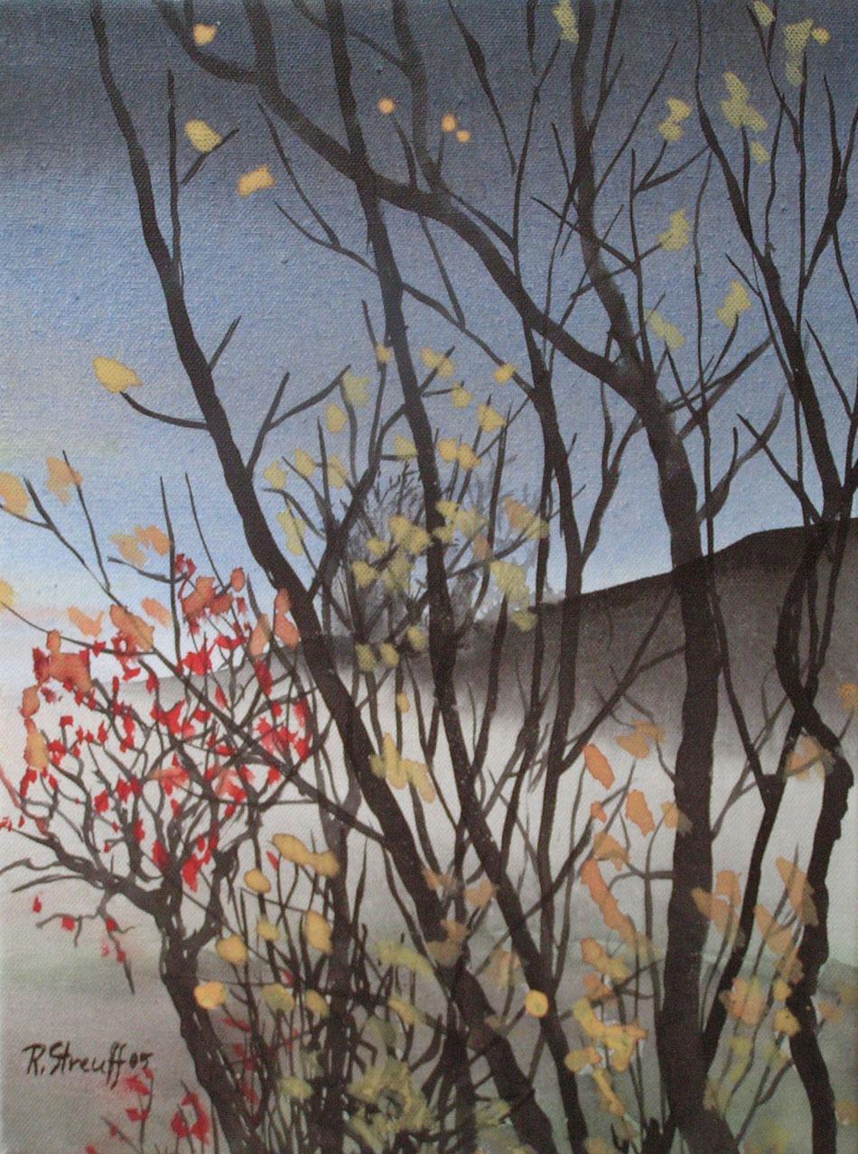 Herbst, Landschaft, Malerei