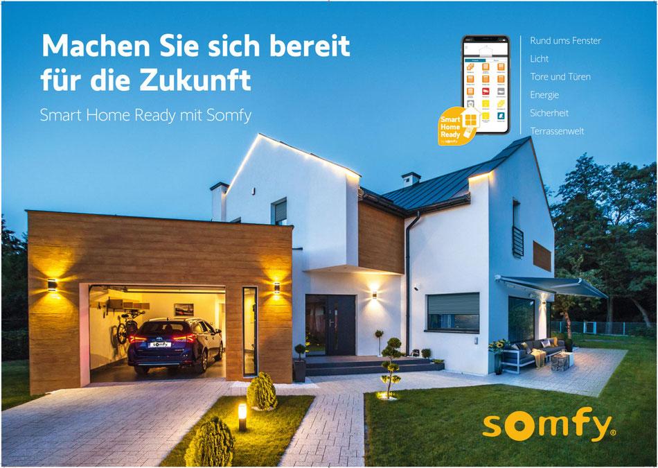 Smart Home Ready mit Somfy – Machen Sie sich bereit für die Zukunft – www.hauste.ch