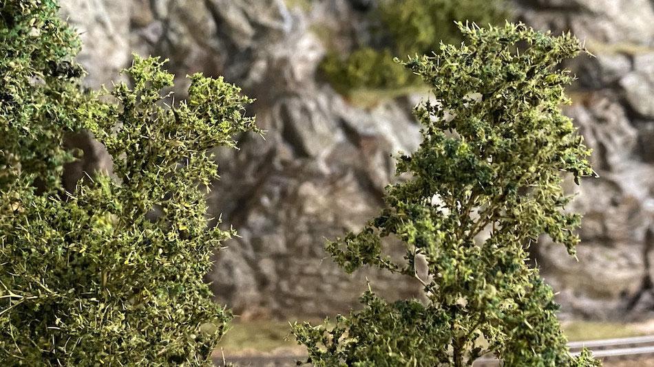 Mit Seemoos Modellbäume selber basteln Märklin H0