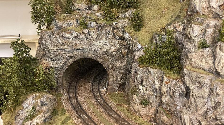 Landschaftsbau H0 Anlage Thema Gotthard