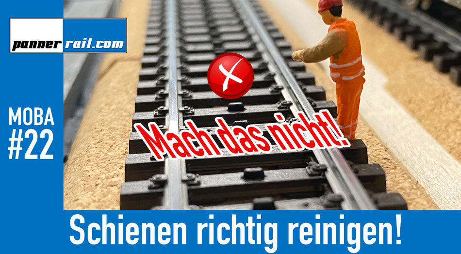 Märklin 3-Leiter Schienen richtig reinigen - was gilt es zu beachten?