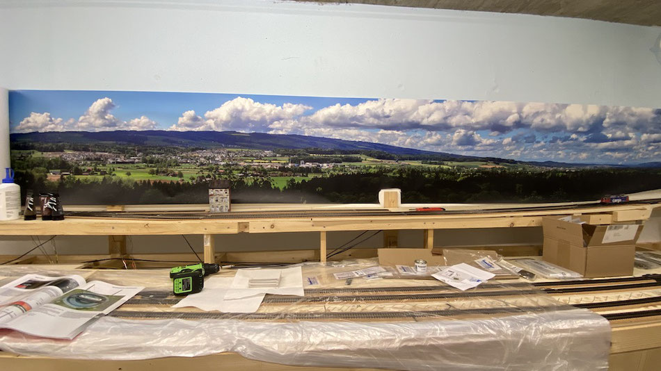 Hintergründe für die Modelleisebahn, Panoramafotos
