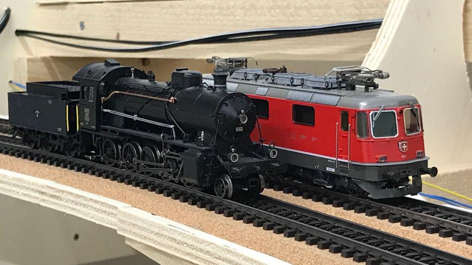 Pendelbetrieb mit Traincontroller