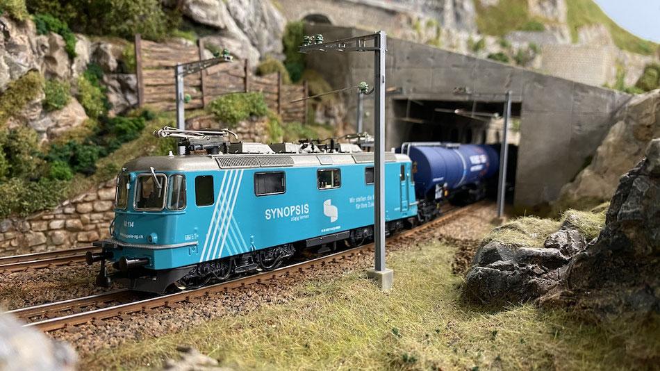 "Modelleisenbahn Hag Re 430 ""Synopsis"""