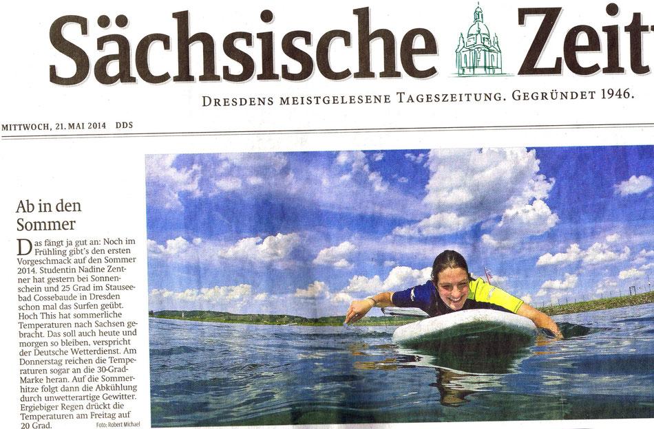 Titelbild SZ Ausgabe 21.05.2014