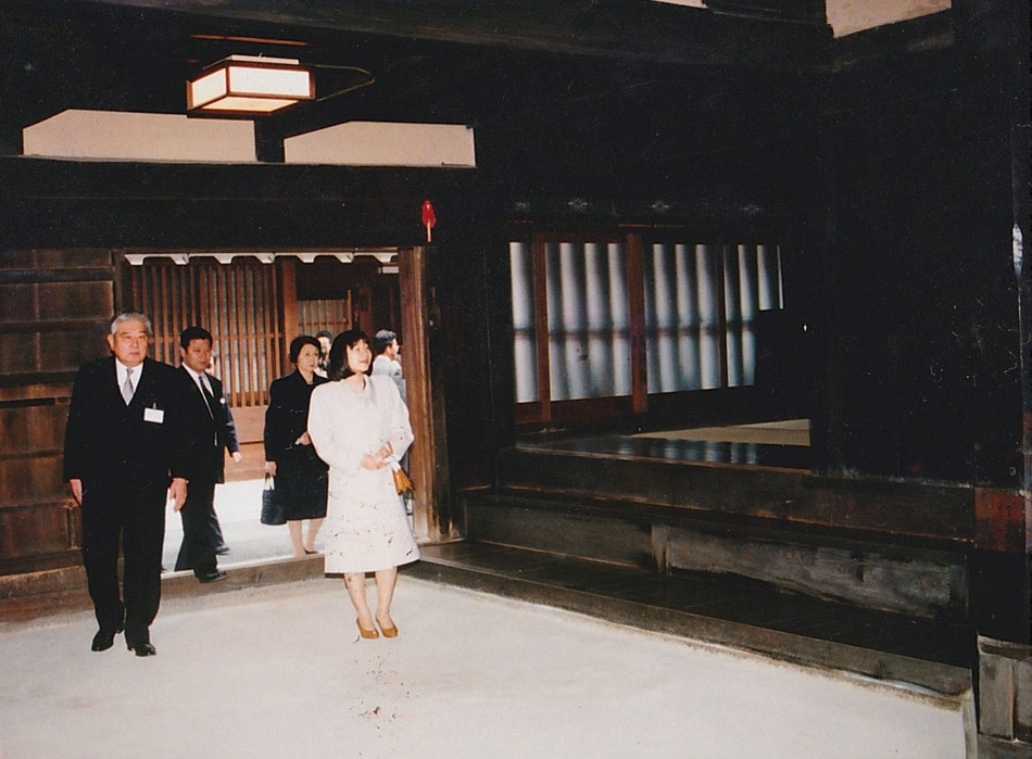 伊勢神宮 祭主 黒田清子 内親王様 今西啓仁 今西家 ご訪問  Imperial Princess Norinomiya Sayako (presently Sayako KURODA)