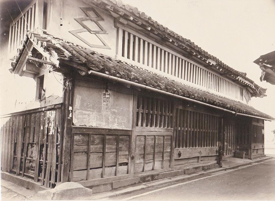 修理前正面全景(1960年当時)