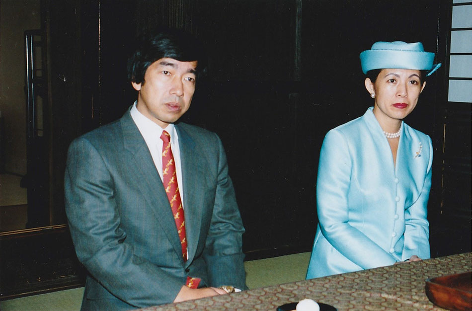 高円宮 同妃両殿下 今西家 Imperial Prince Takamadonomiya Norihito  Imperial Princess Norihito's Empress, Hisako