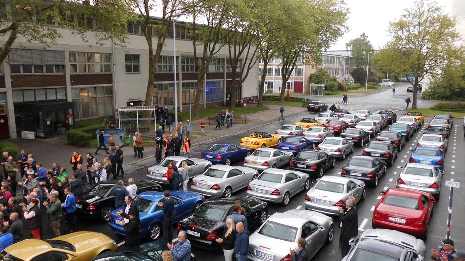 Bild: 20 Jahre SLK, Mercedes-Benz Werk Bremen, HDW, USA,
