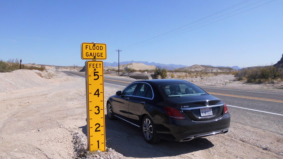 Bild: Big Bend National Park, Mercedes-Benz C-Class