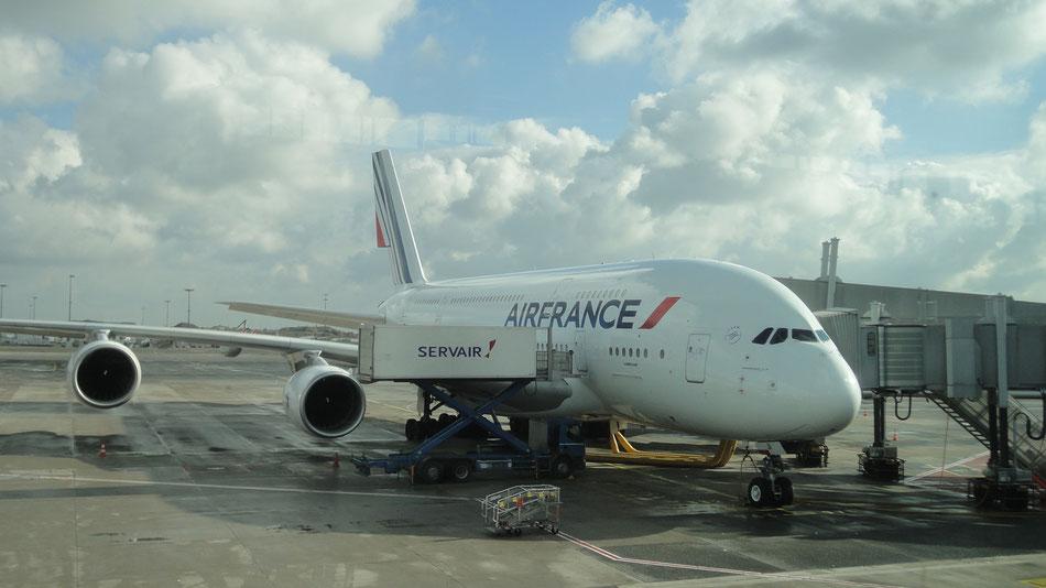 Bild: Air France, A380, USA, HDW, Mister T. und der Weiße Büffel