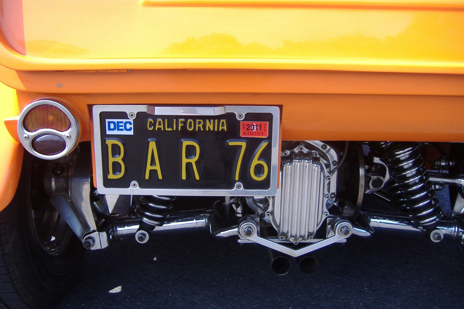 Bild: Highway 1, HDW, California, Hot Rod
