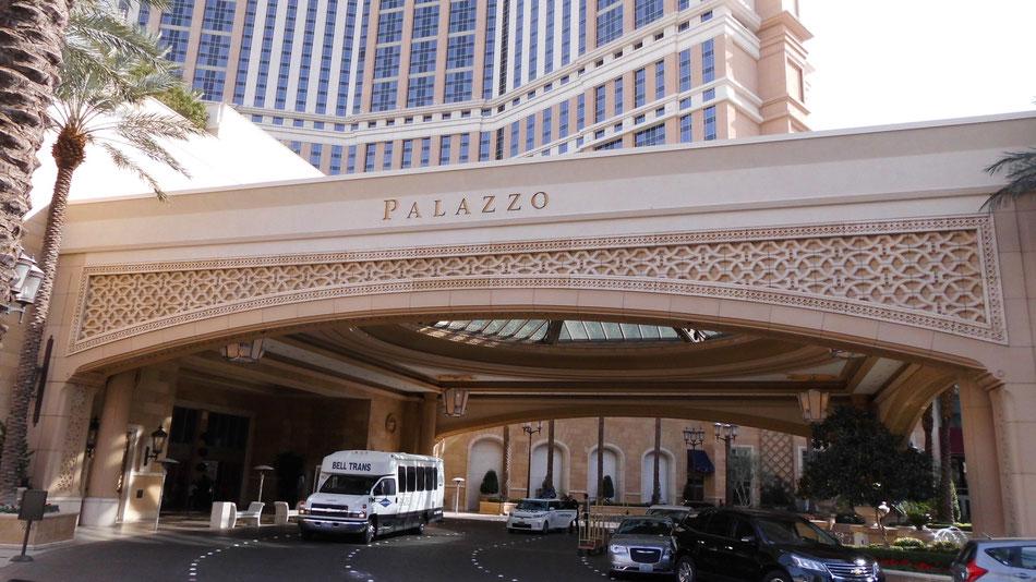 Bild: Palazzo, Las Vegas, Route 66 oder nix, HDW, Hans-Dieter Wuttke,  Nevada