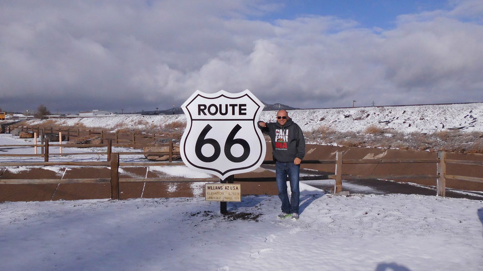 Bild: Williams, Arizona, HDW, Hans-Dieter Wuttke, Route 66