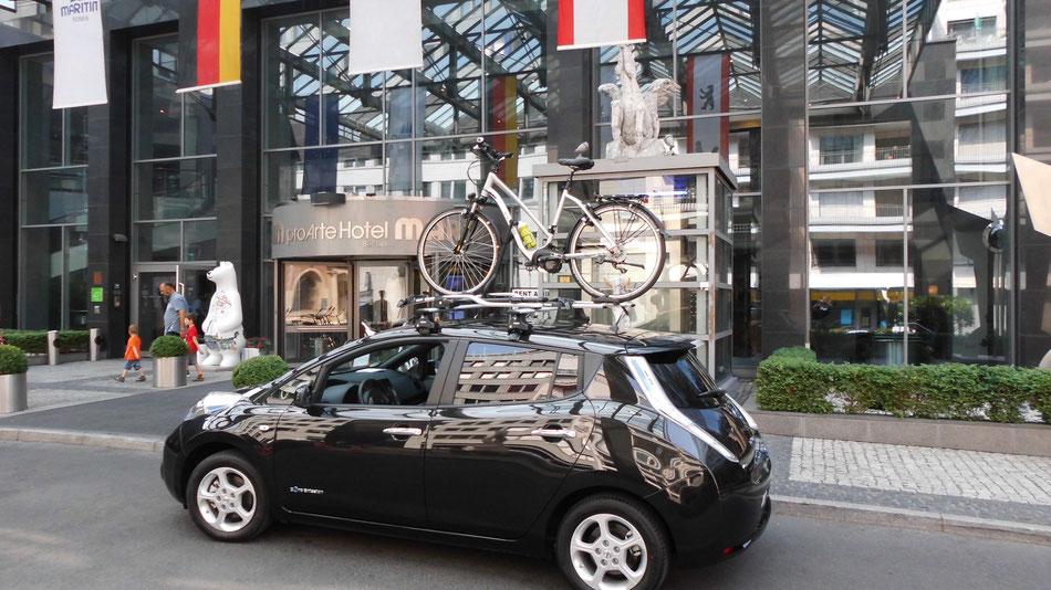 Bild: Nissan, Flyer, Maritim Berlin, HDW