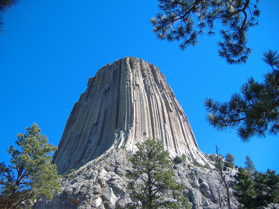 Bild: Devils Tower Wyoming