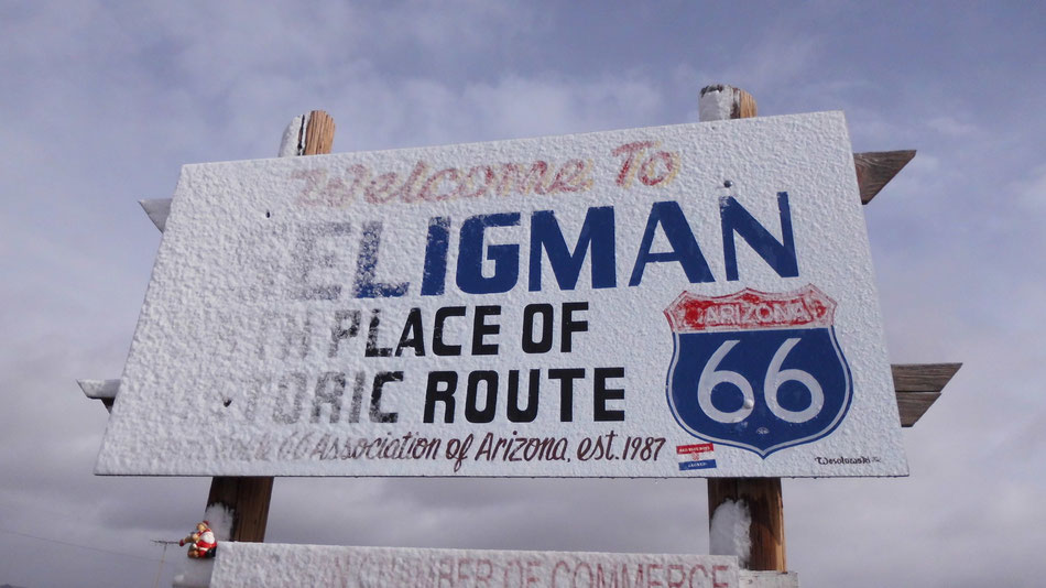 Bild: Seligman, Route 66, HDW,