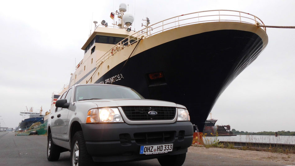 Bild: US-Car Bremerhaven, HDW, Ford Explorer, USA