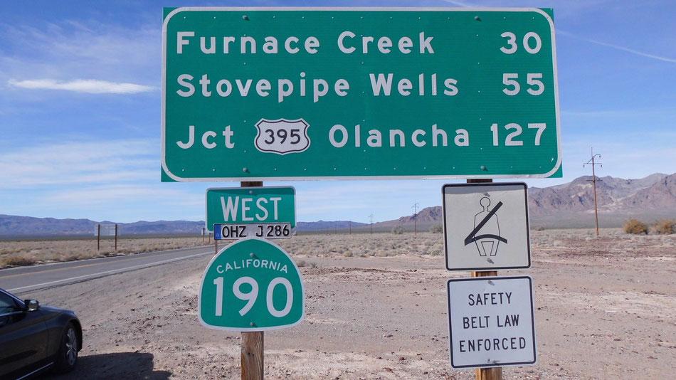 Bild: HDW, Hans-Dieter Wuttke, Mercedes-Benz C-Klasse, Death Valley