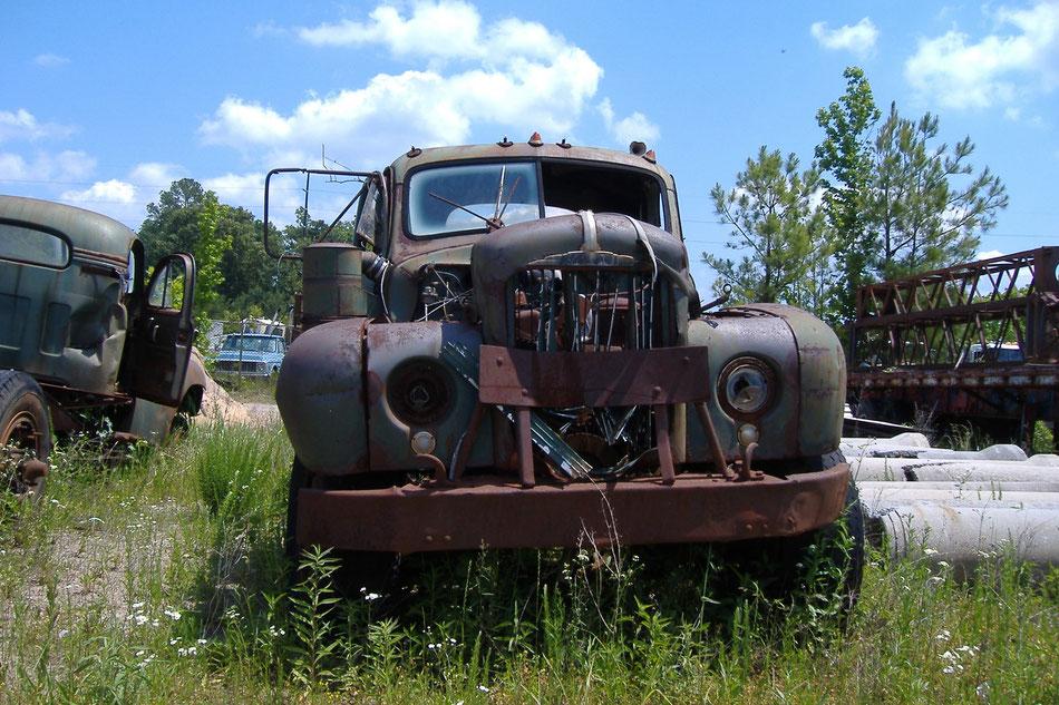 Bild: Old Truck, HDW, 5000 Meilen westwärts