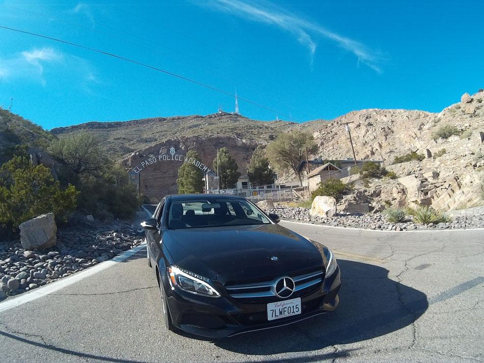 Bild: El Paso Police Akademy, Mercedes-Benz C-Class, HDW in Texas,