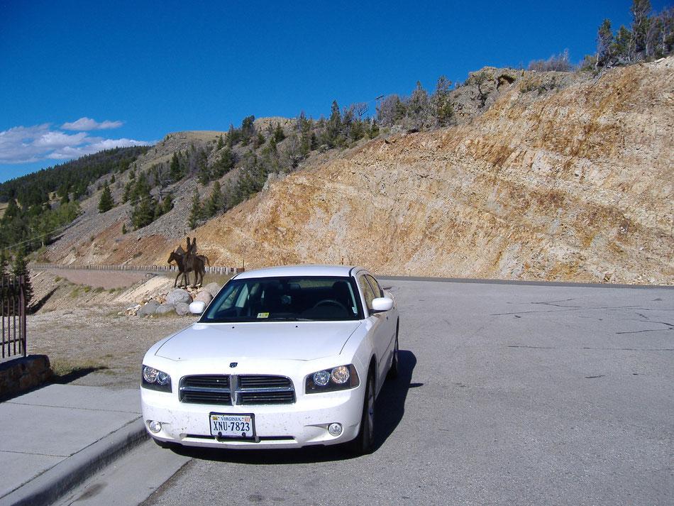 Bild: 5000 Meilen westwärts, HDW, White Lady, Dodge Charger