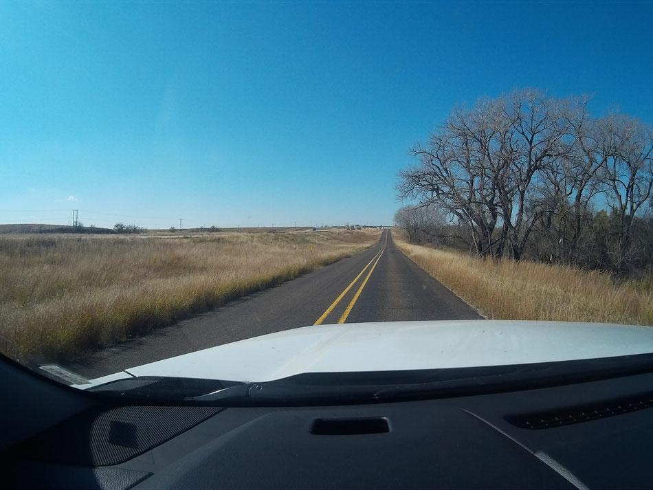 Bild: Texas, HDW-USA, Roadtrip, Amerika, Mister T. und der Weiße Büffel, Route 66, Interstate 40