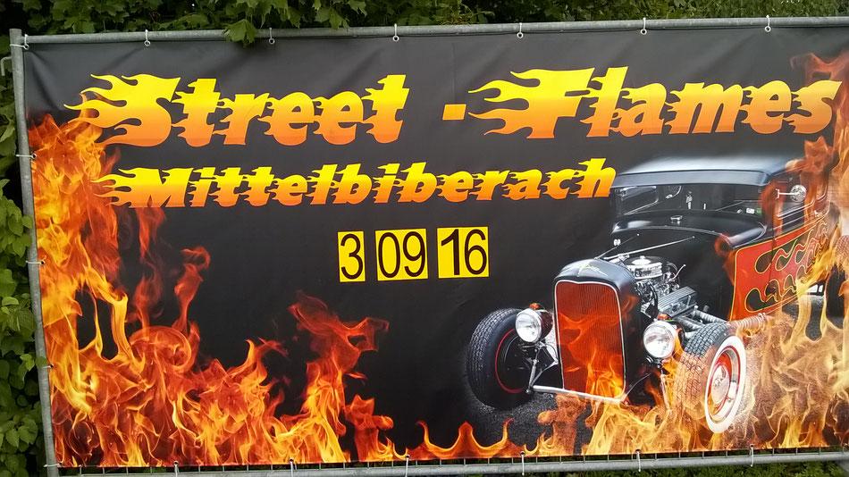 Bild: Street Flames Mittelbiberach, US-Cars, HDW, USA, Ford