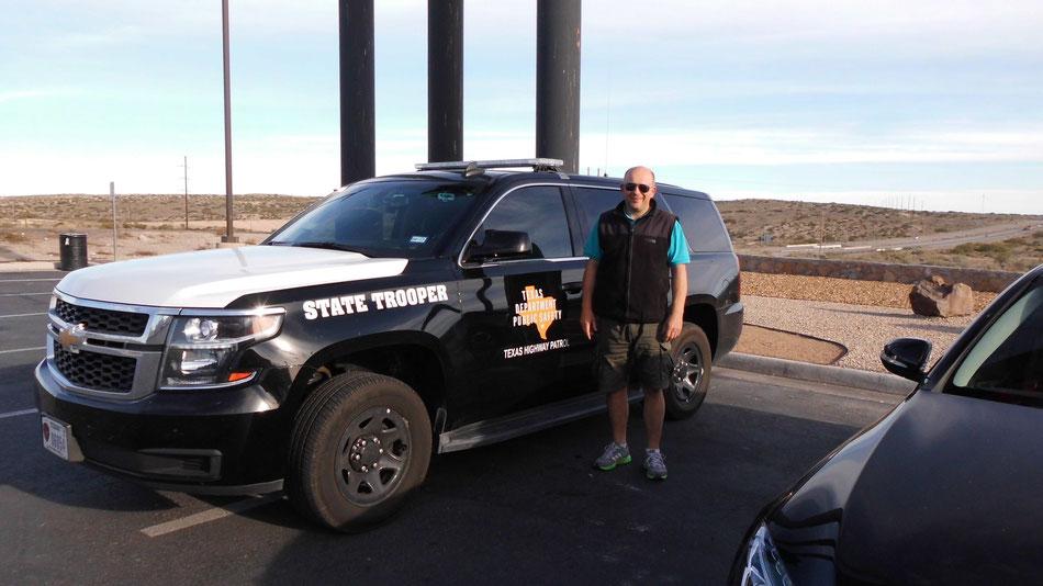 Bild: HDW und Texas State Trooper