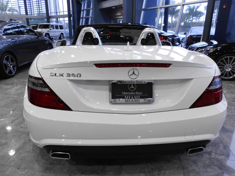 Bild: Mercedes-Benz of Miami, USA, HDW, Florida, SLK aus Bremen