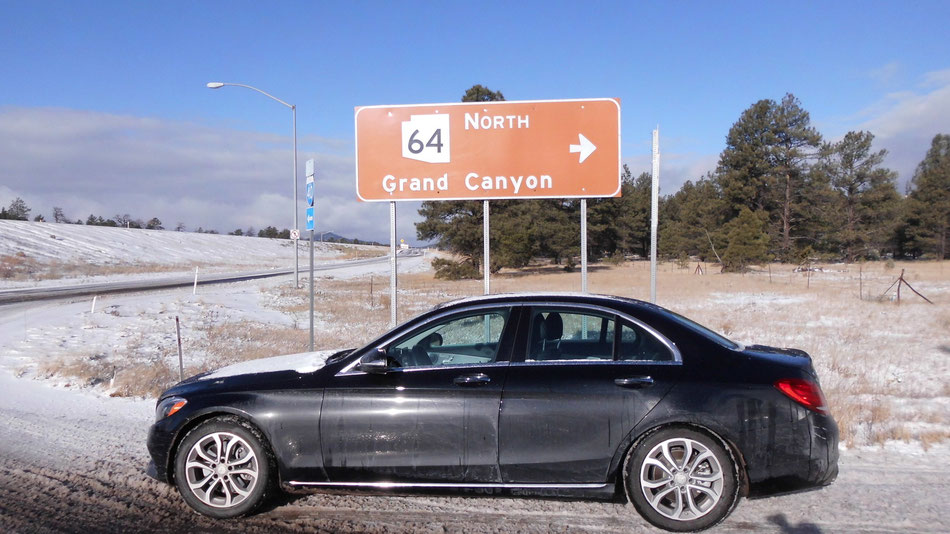 Bild: Grand Canyon, Mercedes-Benz C-Klasse, HDW