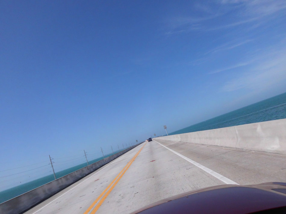 Bild: Seven Mile Bridge nach Key West
