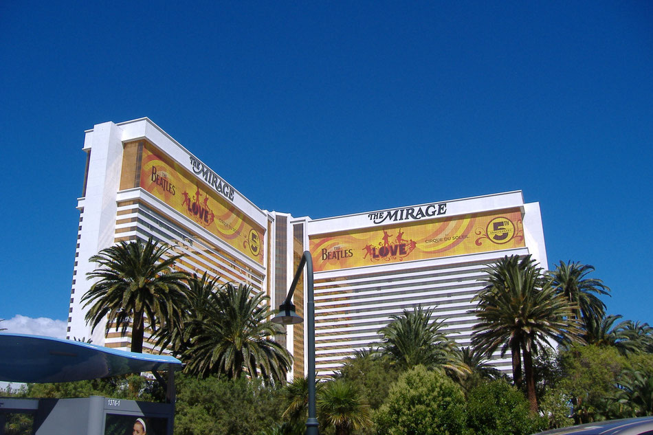 Bild: Las Vegas: The Mirage Hotel