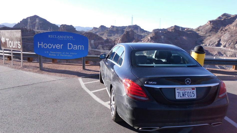 Bild: Hoover Dam, Nevada, Las Vegas, Hans-Dieter Wuttke, HDW, Route 66 oder nix, Mercedes-Benz C-Klasse