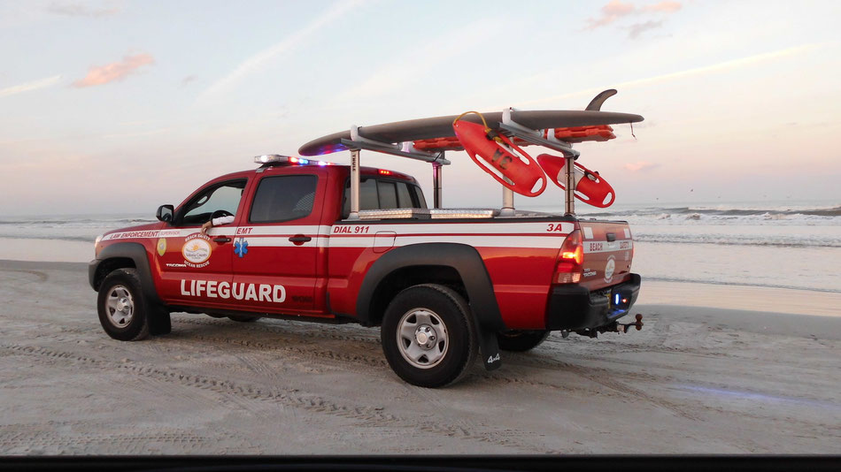 Bild: Lifeguard Daytona Beach Florida