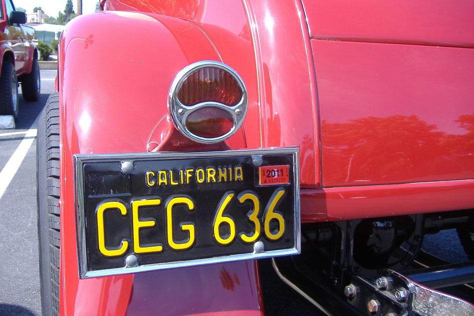 Bild: Hot Rod, HDW, California, Roadtrip from Brooklyn Bridge to Golden Gate Bridge