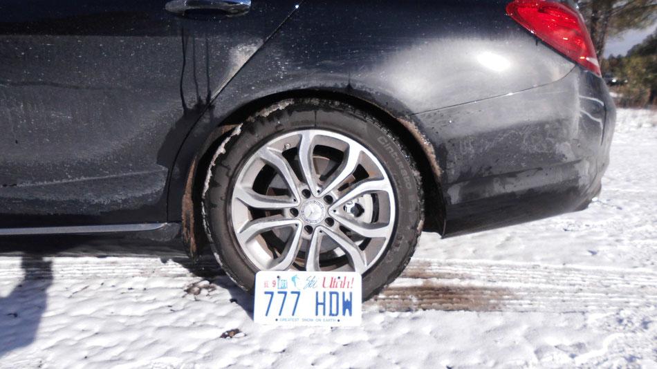 Bild: HDW, Mercedes-Benz C-Klasse, Ski Utah