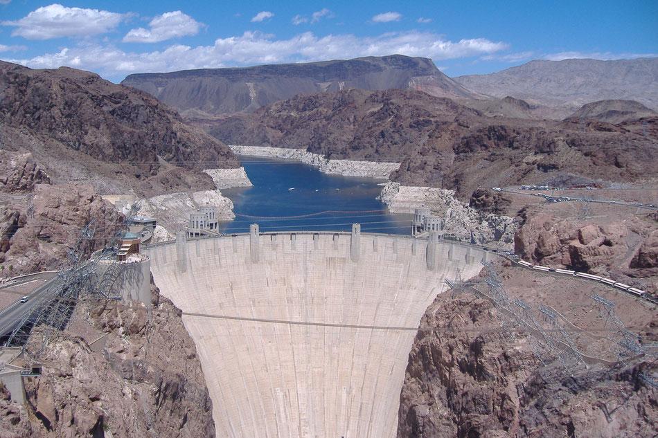 Bild: Hoover Dam, Arizona, Nevada, Lake Mead, Hans-Dieter Wuttke, HDW, Route 66 oder nix