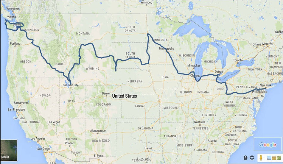 Bild: 5000 Meilen westwärts; HDW; Hans-Dieter Wuttke; White Lady; New York; Seattle