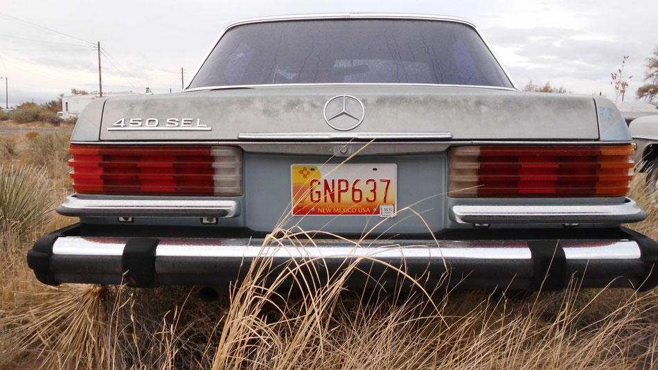 Bild: HDW-USA, Road Trip, New Mexico, Mercedes-Benz 450 SEL