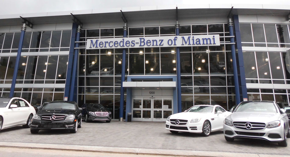 Bild: Mercedes-Benz of Miami, USA, HDW, Daimler, Florida